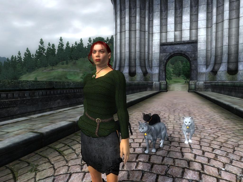 Female Green Sweater In-Game